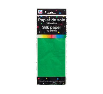 Papier de soie, 10 unités, vert