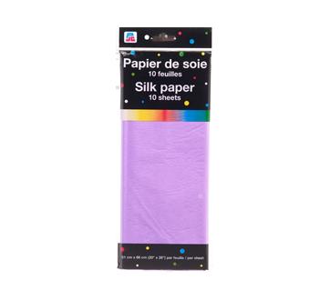 Papier de soie, 10 feuilles, violet