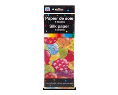 Image du produit PJC - Papier de soie, 5 feuilles, motif de ballons