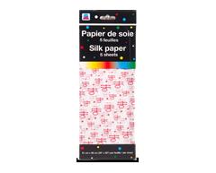 Image du produit PJC - Papier de soie, 5 feuilles, motif de lettres