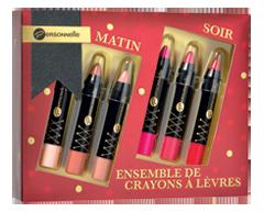 Image du produit Personnelle Cosmétiques - Matin/Soir ensemble de crayons à lèvres, 6 x 2,5 g