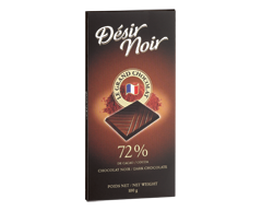 Image du produit Désir Noir - Tablette de chocolat noir 72%, 100 g