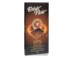 Chocolat noir aux éclats de fèves de cacao caramélisés 64% de cacao- 100 g