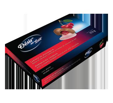 Cerises au marasquin dans un fondant crémeux enrobées de chocolat au lait, 153 g