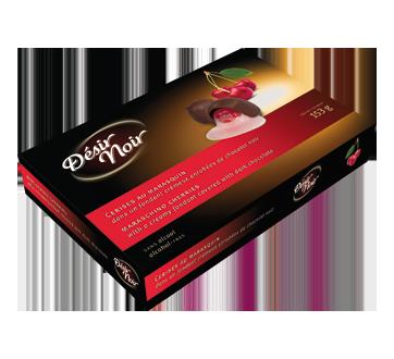Cerises au marasquin dans un fondant crémeux enrobées de chocolat noir, 153 g