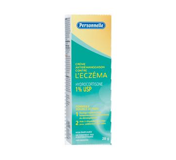 Image du produit Personnelle - Crème antidémangeaison contre l'eczéma avec hydrocortisone 1 % USP, 28 g