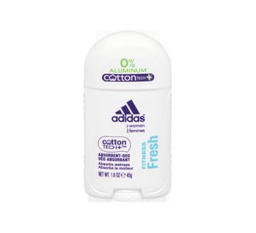 CottonTech déodorant pour femmes sans aluminium, 45 g, Fitness Fresh