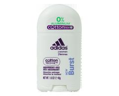 Image du produit Adidas - CottonTech déodorant pour femmes sans aluminium, 45 g, Fitness Fresh