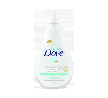 Tête aux Pieds nettoyant hydratation peau sensible, 591 ml