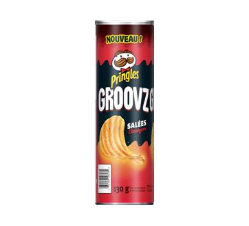 Groovz croustilles, 130 g, classique