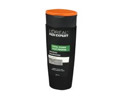 Image du produit L'Oréal Paris - Men Expert Hair Care - Shampooing, 385 ml, total clean
