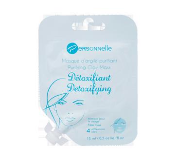 Détoxifiant masque d'argile purifiant, 15 ml