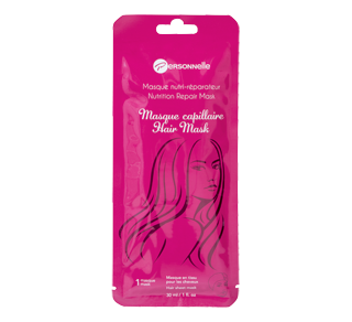 Masque capillaire nutri-réparateur, 30 ml