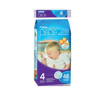 Couches pour bébé, 48 unités