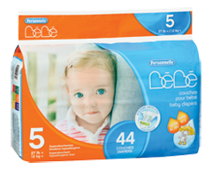 Image du produit Personnelle - Couches pour bébé, 44 couches