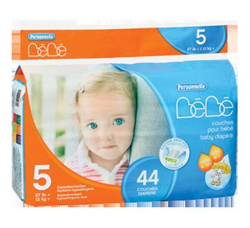 Couches pour bébé, 44 unités