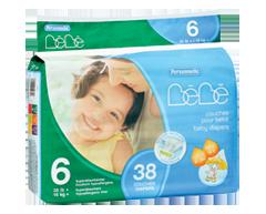 Image du produit Personnelle Bébé - Couches pour bébé, 38 unités