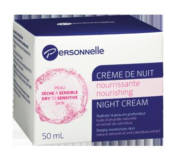 Crème de nuit nourrissante, 50 ml, peau sèche à sensible