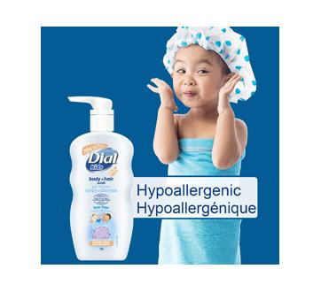 Image 3 du produit Dial - Kids peau de pêche nettoyant pour le corps et les cheveux, 709 ml