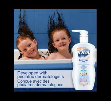Image 4 du produit Dial - Kids peau de pêche nettoyant pour le corps et les cheveux, 709 ml