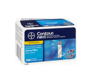 Image 2 du produit Contour - Contour Next bandelettes d'analyse de glycémie, 100 unités