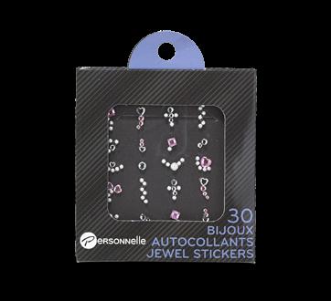 Bijoux autocollants pour les ongles, 30 unités
