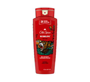 Collection Sauvage nettoyant pour le corps pour hommes, 473 ml, Wild Bearglove