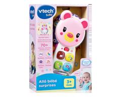 Image du produit Vtech - Allô Bébé Surprises, 1 unité, rose