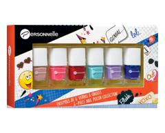Image du produit Personnelle Cosmétiques - Ensemble de vernis à ongles, 6 x 7 ml