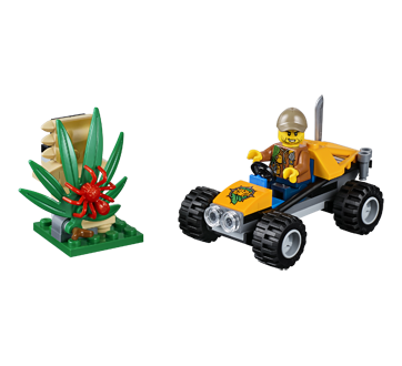 Lego City buggy de la jungle, 1 unité