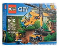 Image du produit Lego - Hélicoptère cargo de la jungle, 1 unité