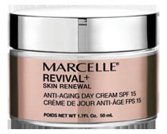 Image du produit Marcelle - Revival+ Skin Renewal crème de jour anti-âge FPS 15, 50 ml