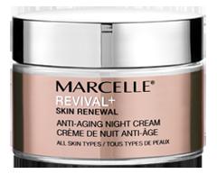 Image du produit Marcelle - Revival+ Skin Renewal crème de nuit anti-âge, 50 ml