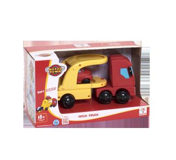 Motortown jouets camion Iveco et voiture, 1 unité