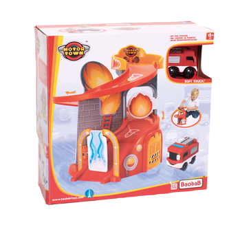Motortown jouet caserne de pompier, 1 unité