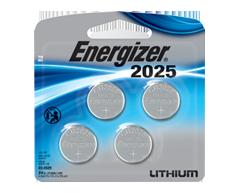 Image du produit Energizer - 2025 piles lithium, 4 unités