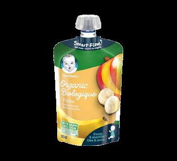 Purée biologique dès 6 mois, 128 ml, banane et mangue