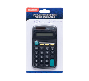 Image du produit Equation - Calculatrice de poche, 1 unité