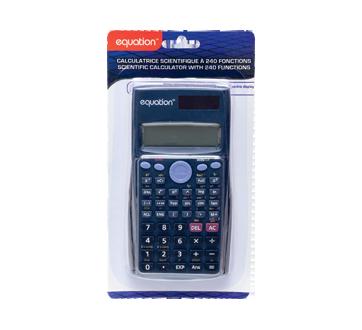 Calculatrice scientifique à 240 fonctions, 1 unité