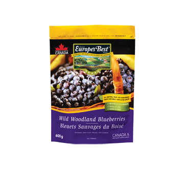 Bleuets sauvages, 600 g