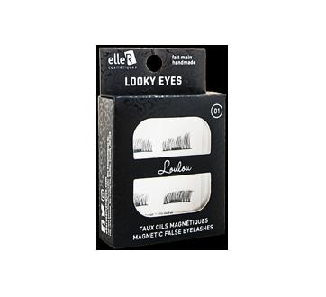 Looky Eyes faux cils magnétiques, 1 unité, #01 Loulou
