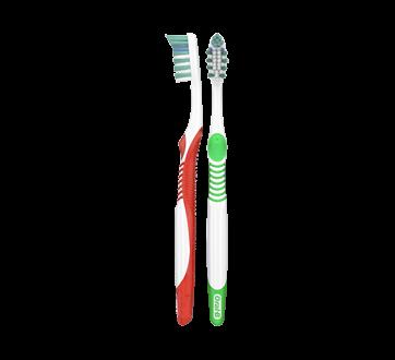 Complete Nettoyage en Profondeur brosse à dents manuelle, 2 unités, moyenne