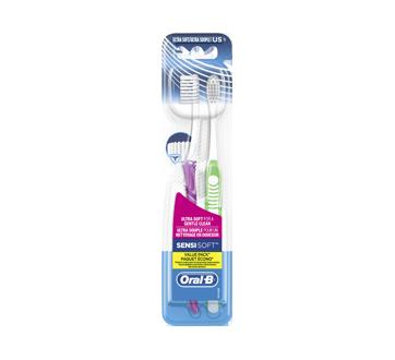 Sensi-Soft brosses à dents, 2 unités, ultra souple