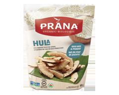 Image du produit Prana - Hula croustilles de noix de coco rôties à sec, 100 g, sel de mer et poivre