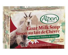 Image du produit Alpen Secrets - Savon au lait de chèvre, 141 g, fraîcheur de campagne