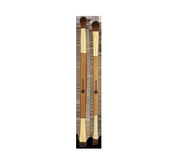 Image 2 du produit Personnelle Cosmétiques - Duo de pinceaux pour les yeux, 2 unités