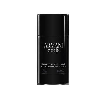 Armani Black Code déodorant en bâton, 75 g