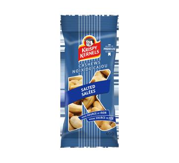 Noix de cajou salées, 65 g