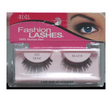 Fashion Lashes faux cils, 1 paire, #101 - Demi - Noir