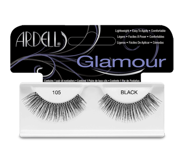 Fashion Lashes faux cils, 1 paire, # 105 - Noir